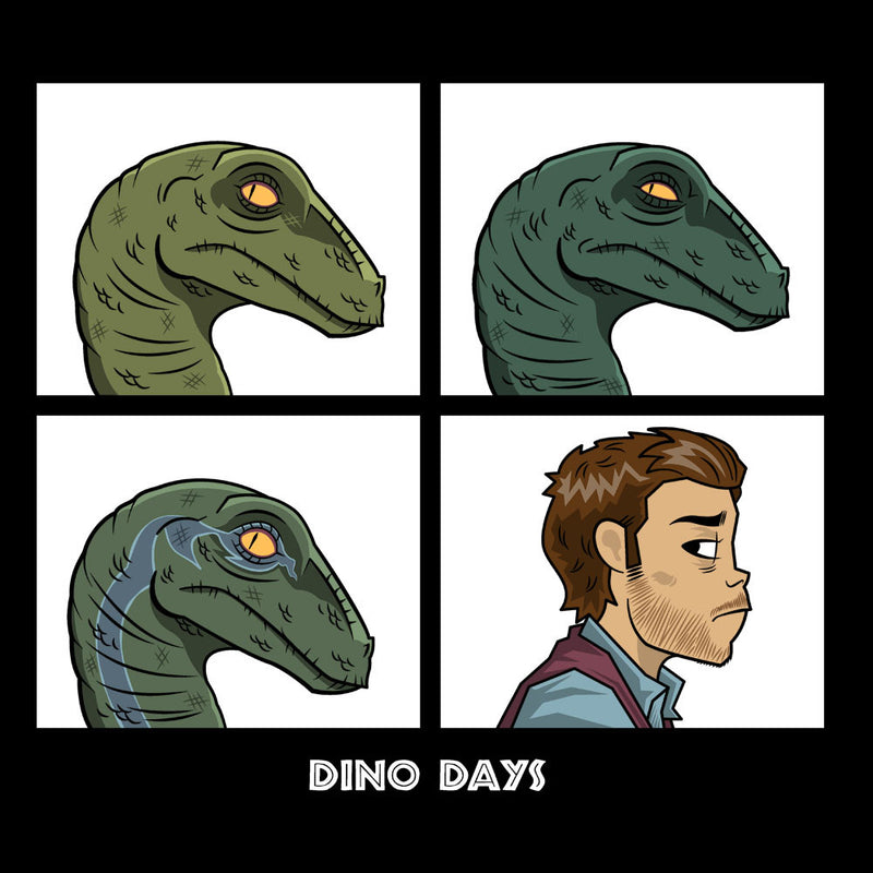 Dino Days Jurassic Park Gorillaz by Fanboy30 - Cloud City 7