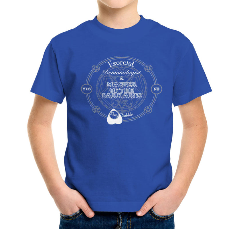 Petty Dabbler Master Of The Dark Arts Kid's T-Shirt by Fanboy30 - Cloud City 7