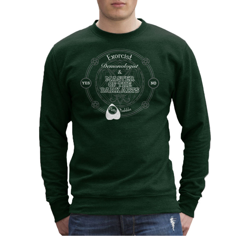 Petty Dabbler Master Of The Dark Arts Men's Sweatshirt Men's Sweatshirt Cloud City 7 - 13