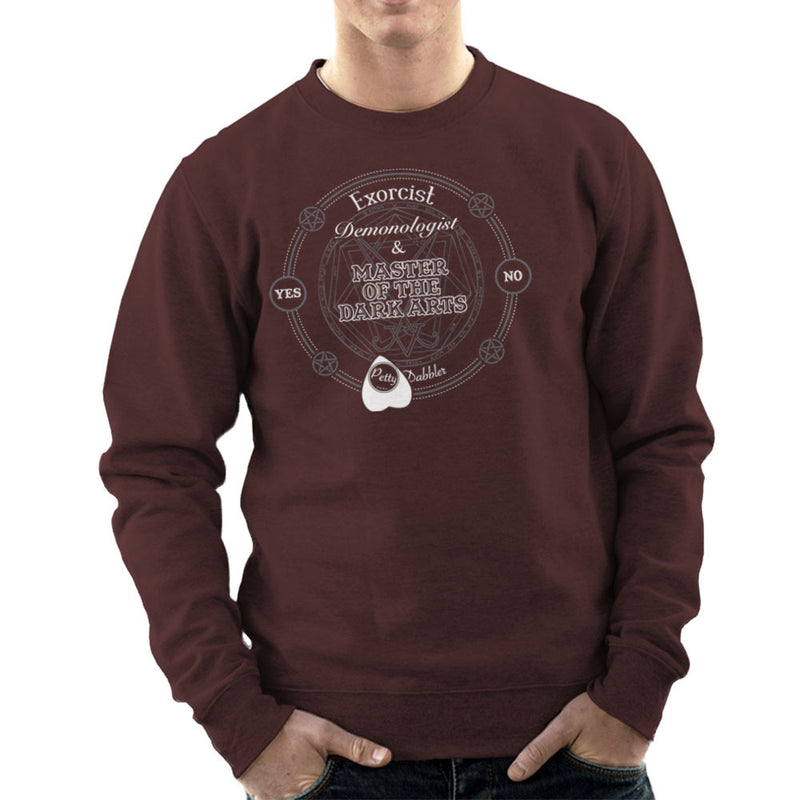 Petty Dabbler Master Of The Dark Arts Men's Sweatshirt Men's Sweatshirt Cloud City 7 - 12