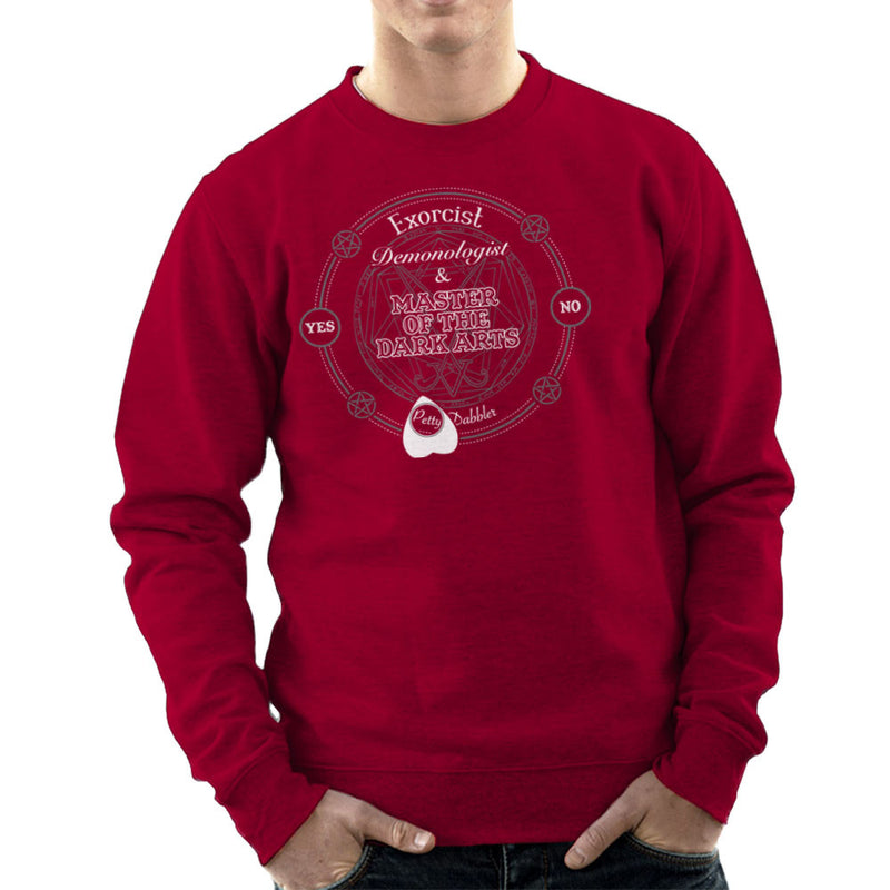 Petty Dabbler Master Of The Dark Arts Men's Sweatshirt Men's Sweatshirt Cloud City 7 - 15
