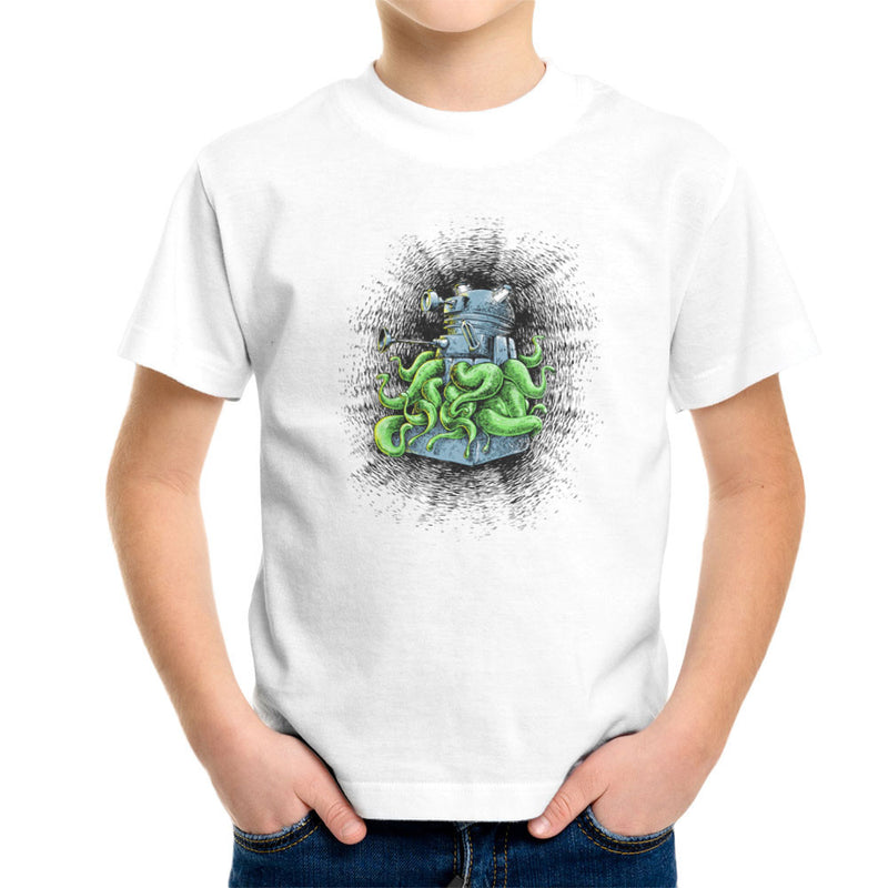 Doctor Who Dalek Tentacles Kid's T-Shirt by Bleee - Cloud City 7