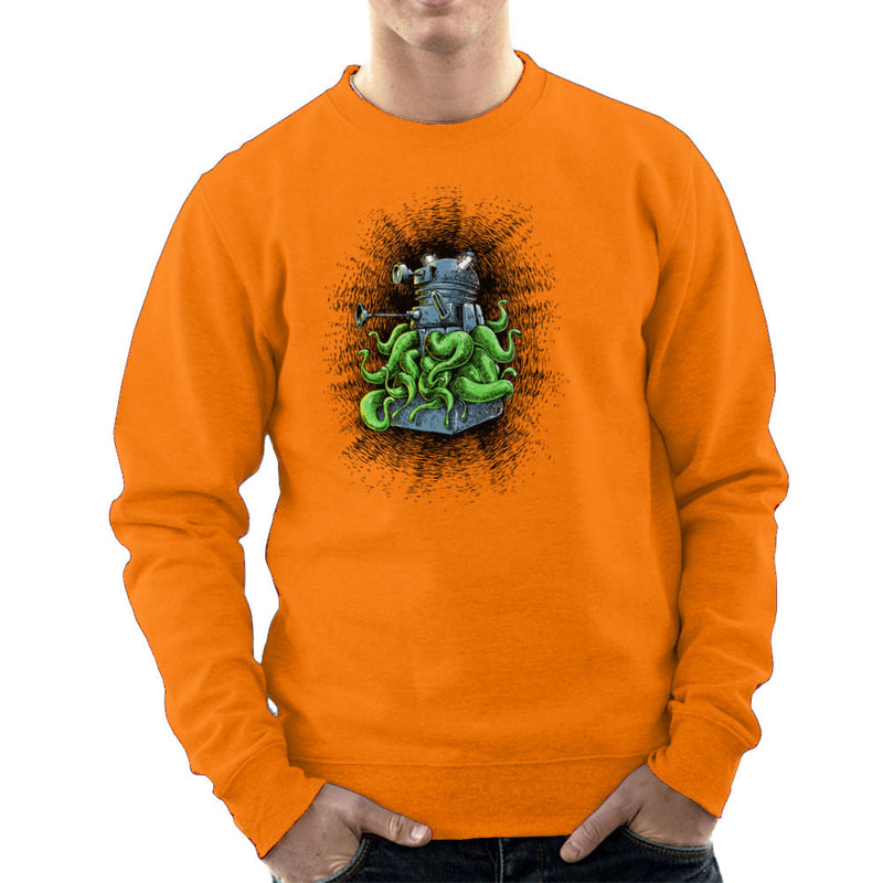 Doctor Who Dalek Tentacles Men's Sweatshirt by Bleee - Cloud City 7