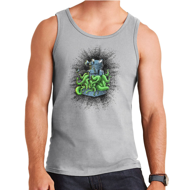 Doctor Who Dalek Tentacles Men's Vest by Bleee - Cloud City 7
