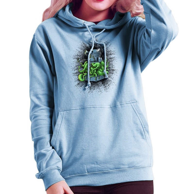 Doctor Who Dalek Tentacles Women's Hooded Sweatshirt by Bleee - Cloud City 7