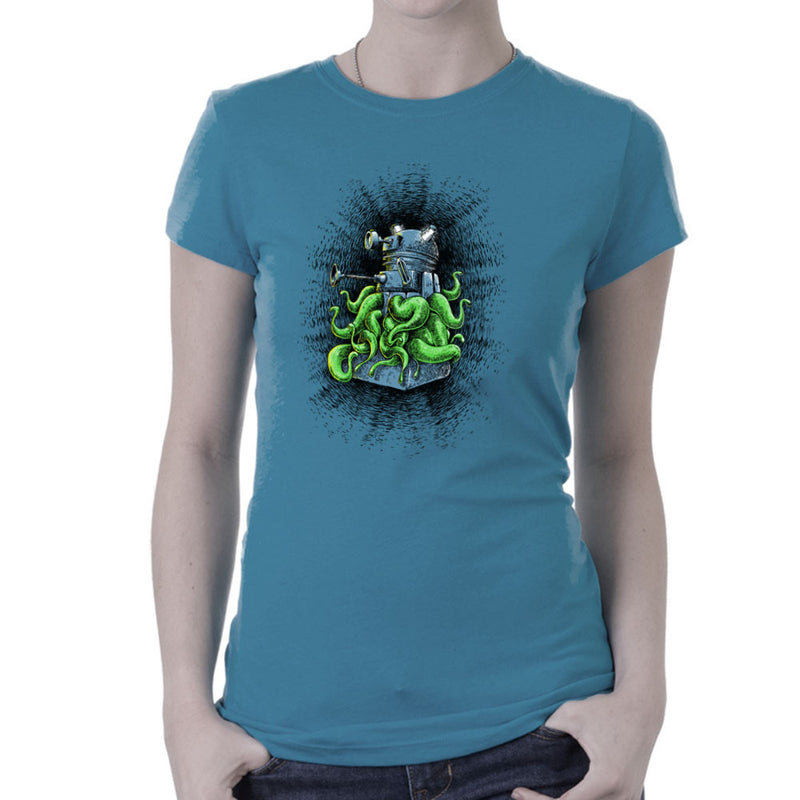 Doctor Who Dalek Tentacles Women's T-Shirt by Bleee - Cloud City 7