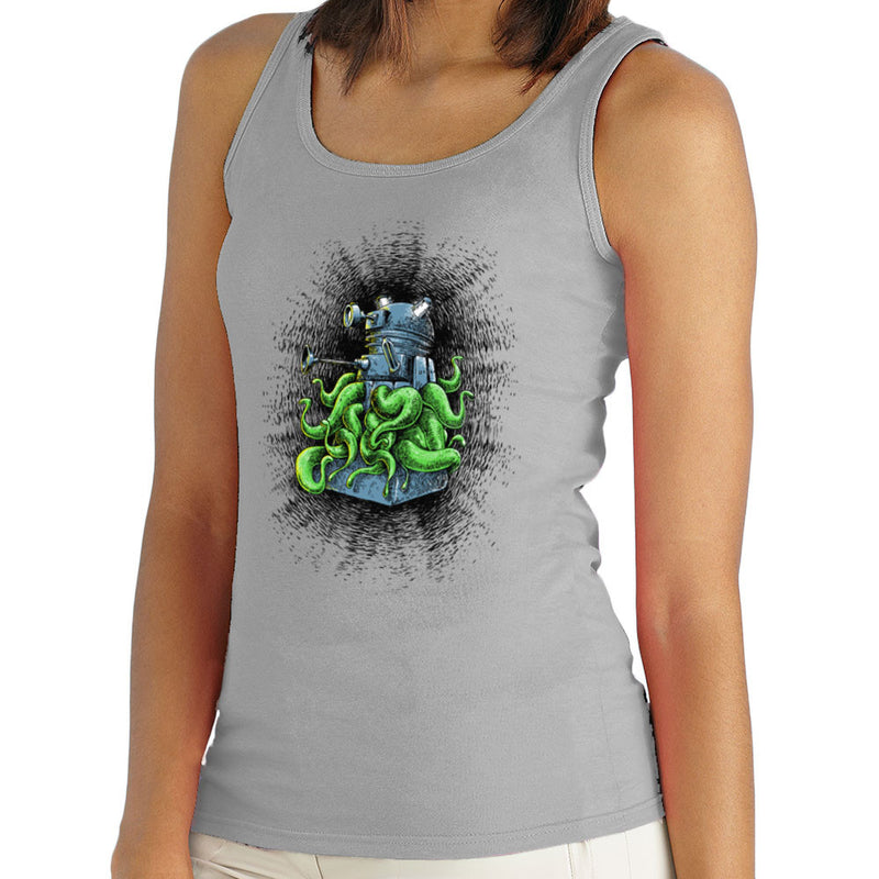 Doctor Who Dalek Tentacles Women's Vest by Bleee - Cloud City 7