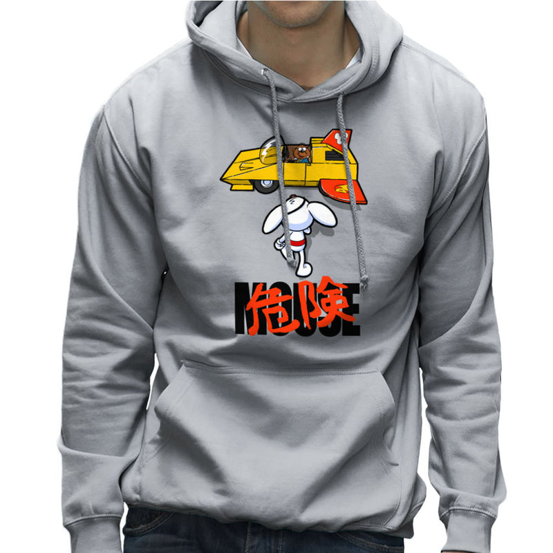Danger Mouse Akira Penfold Flying Car Men's Hooded Sweatshirt by Bleee - Cloud City 7