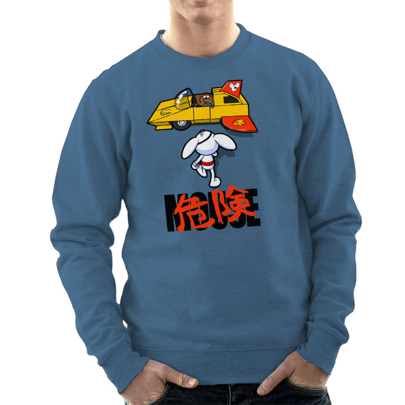 Danger Mouse Akira Penfold Flying Car Men's Sweatshirt by Bleee - Cloud City 7