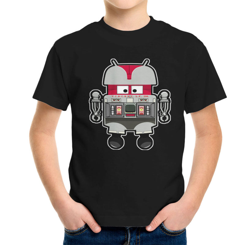 V.I.N.CENT L.F 396 Droid The Black Hole Android Kid's T-Shirt Kid's Boy's T-Shirt Cloud City 7 - 2