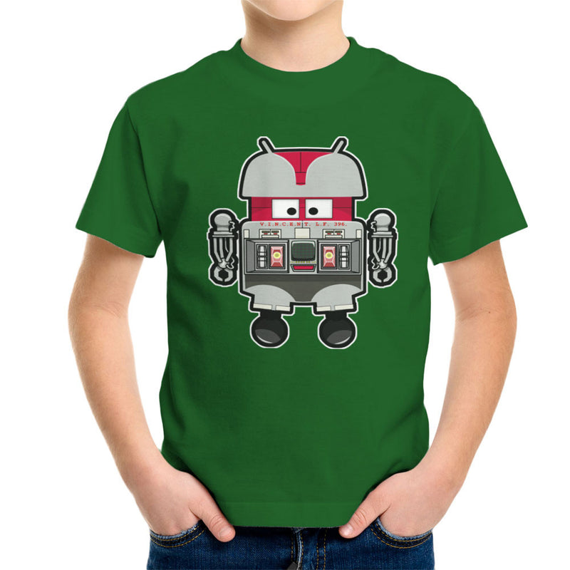 V.I.N.CENT L.F 396 Droid The Black Hole Android Kid's T-Shirt Kid's Boy's T-Shirt Cloud City 7 - 13