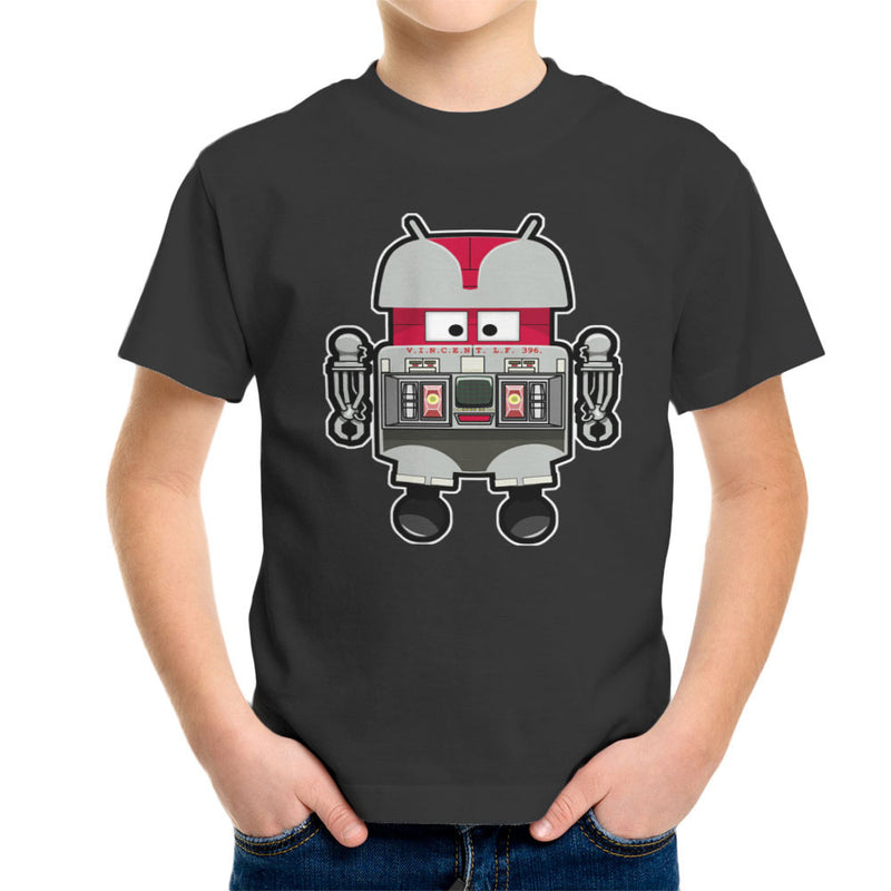 V.I.N.CENT L.F 396 Droid The Black Hole Android Kid's T-Shirt Kid's Boy's T-Shirt Cloud City 7 - 4