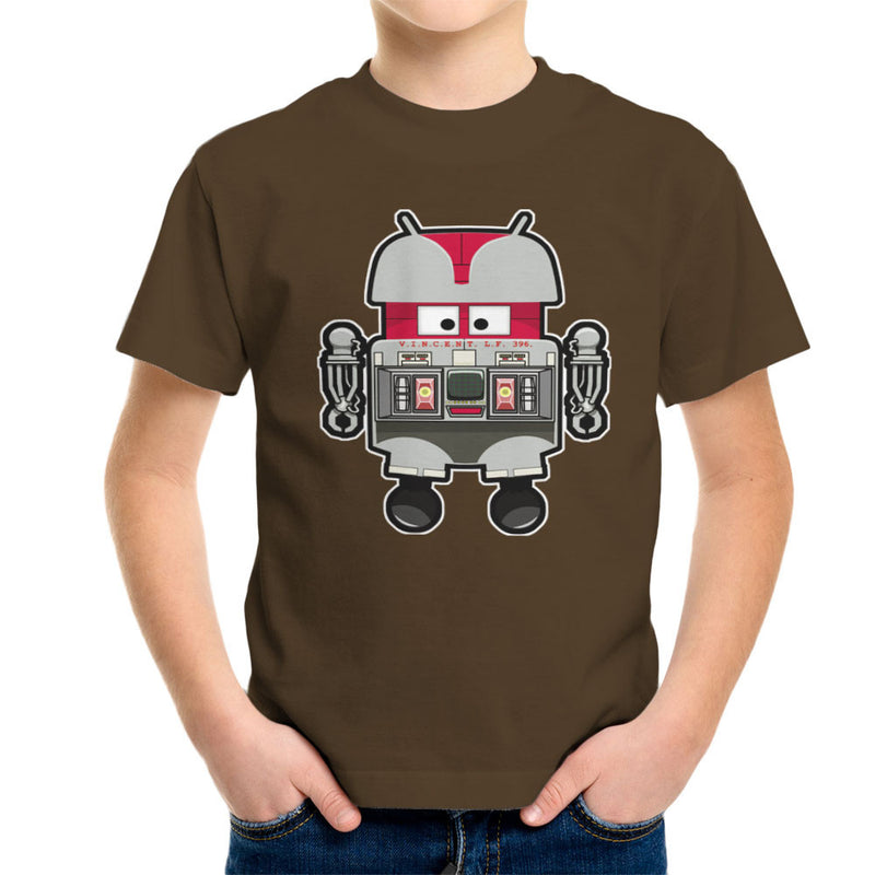 V.I.N.CENT L.F 396 Droid The Black Hole Android Kid's T-Shirt Kid's Boy's T-Shirt Cloud City 7 - 12