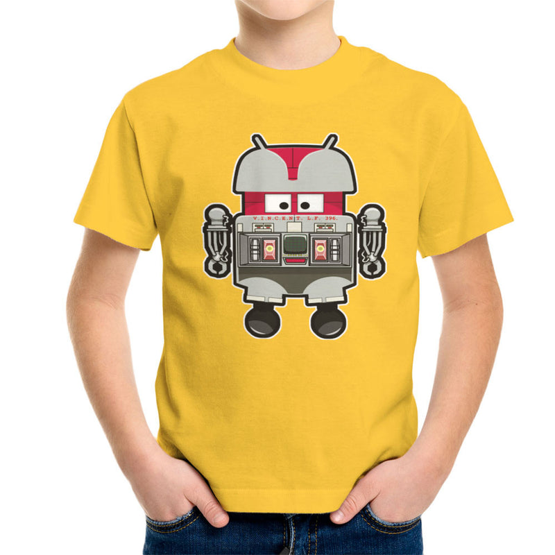 V.I.N.CENT L.F 396 Droid The Black Hole Android Kid's T-Shirt Kid's Boy's T-Shirt Cloud City 7 - 17