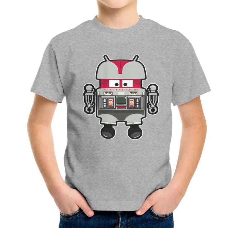 V.I.N.CENT L.F 396 Droid The Black Hole Android Kid's T-Shirt Kid's Boy's T-Shirt Cloud City 7 - 5