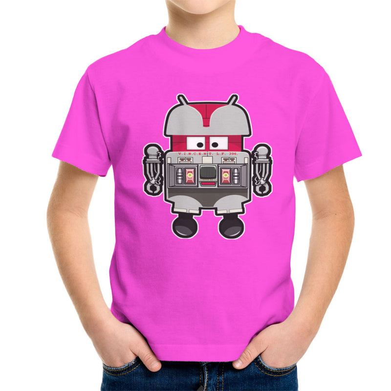 V.I.N.CENT L.F 396 Droid The Black Hole Android Kid's T-Shirt Kid's Boy's T-Shirt Cloud City 7 - 19