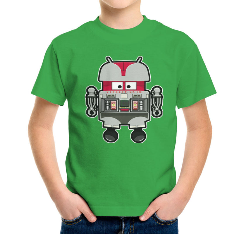 V.I.N.CENT L.F 396 Droid The Black Hole Android Kid's T-Shirt Kid's Boy's T-Shirt Cloud City 7 - 14