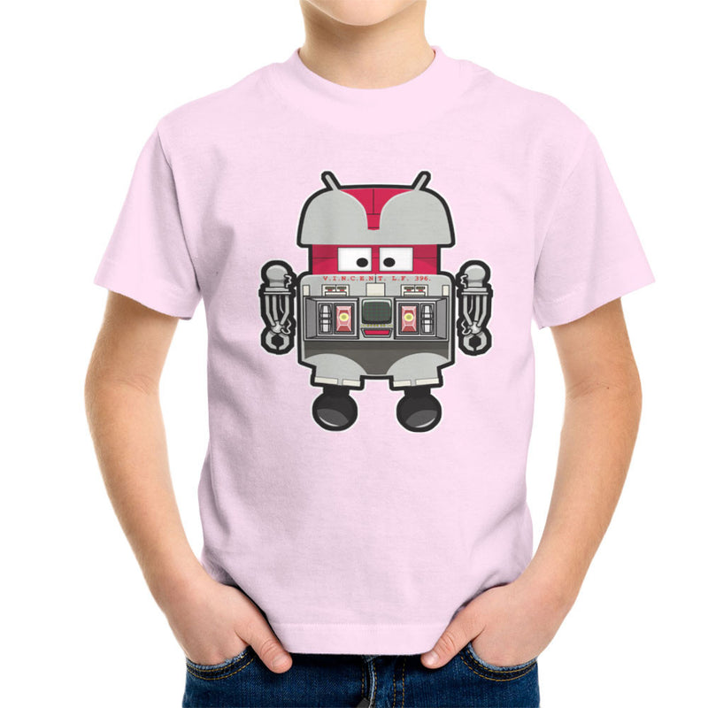 V.I.N.CENT L.F 396 Droid The Black Hole Android Kid's T-Shirt Kid's Boy's T-Shirt Cloud City 7 - 20