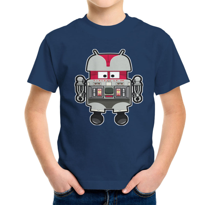 V.I.N.CENT L.F 396 Droid The Black Hole Android Kid's T-Shirt Kid's Boy's T-Shirt Cloud City 7 - 7