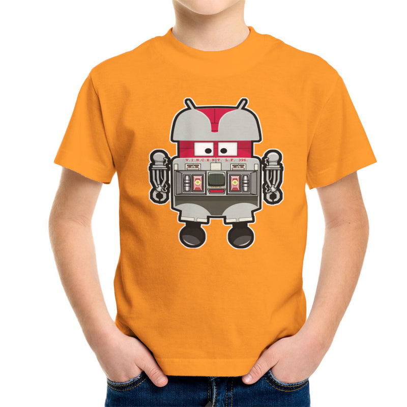 V.I.N.CENT L.F 396 Droid The Black Hole Android Kid's T-Shirt by Bleee - Cloud City 7