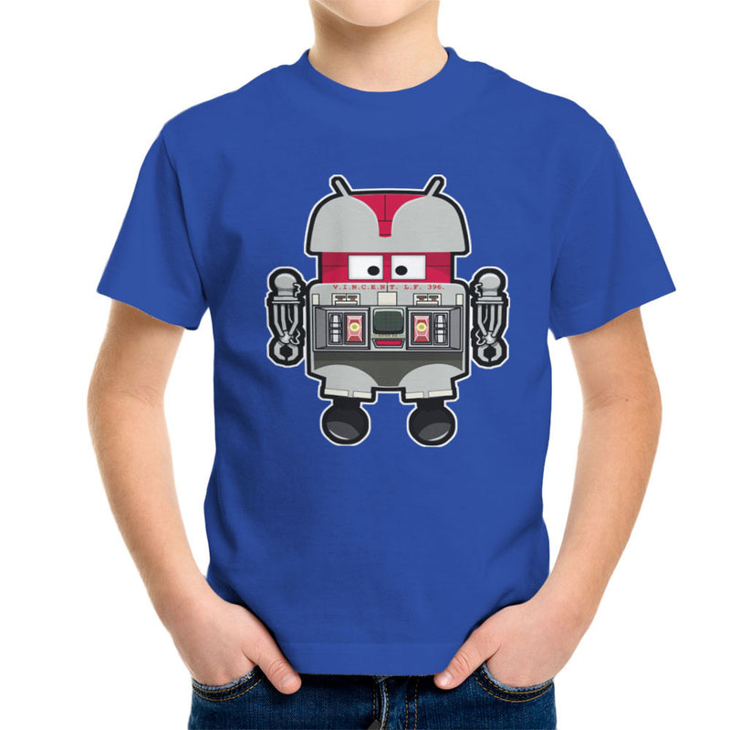 V.I.N.CENT L.F 396 Droid The Black Hole Android Kid's T-Shirt Kid's Boy's T-Shirt Cloud City 7 - 8