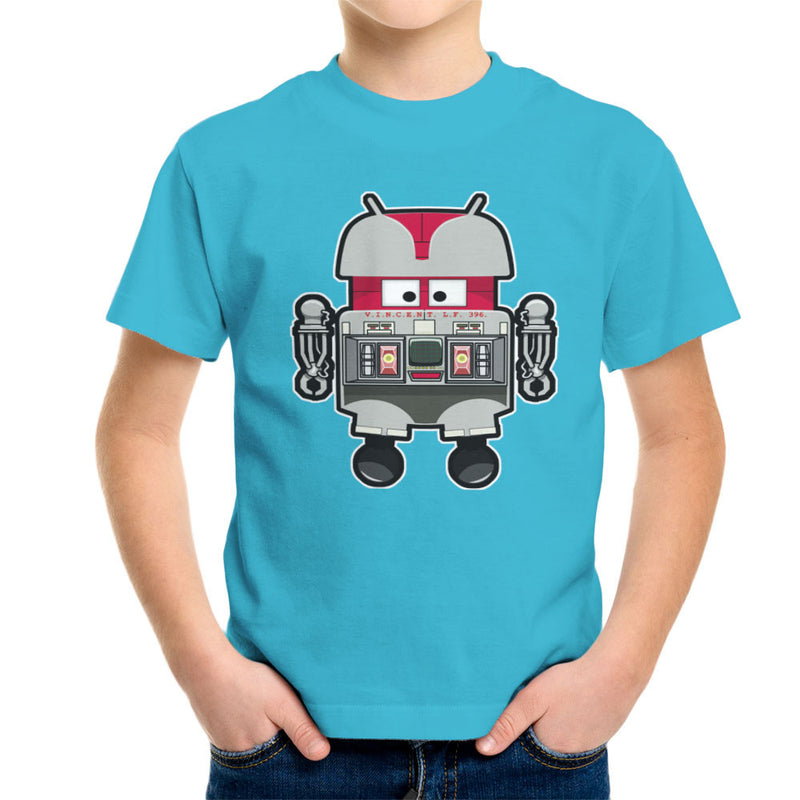 V.I.N.CENT L.F 396 Droid The Black Hole Android Kid's T-Shirt Kid's Boy's T-Shirt Cloud City 7 - 10