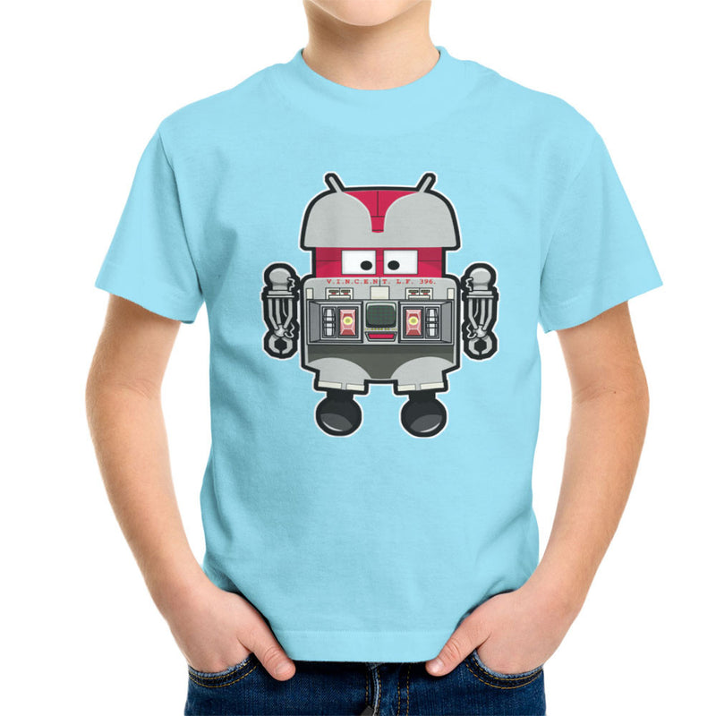V.I.N.CENT L.F 396 Droid The Black Hole Android Kid's T-Shirt Kid's Boy's T-Shirt Cloud City 7 - 11