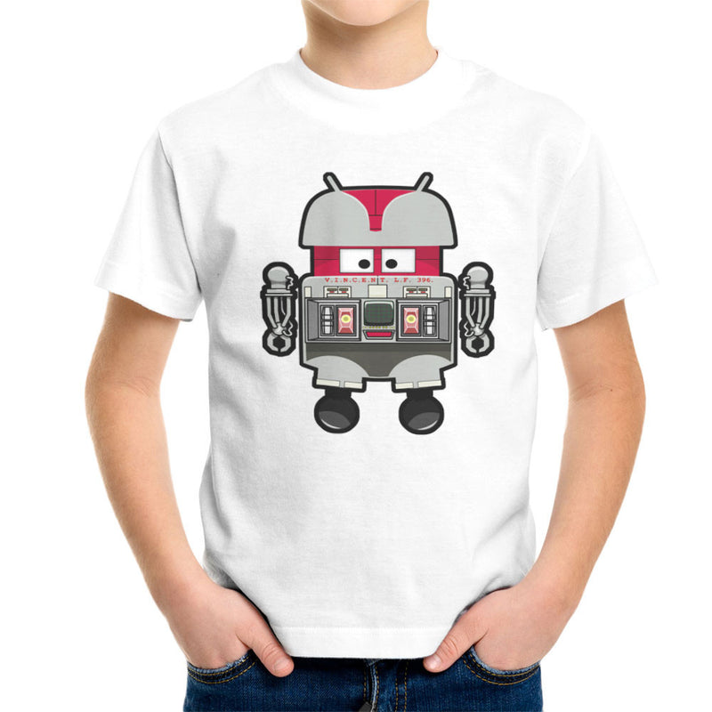 V.I.N.CENT L.F 396 Droid The Black Hole Android Kid's T-Shirt Kid's Boy's T-Shirt Cloud City 7 - 6