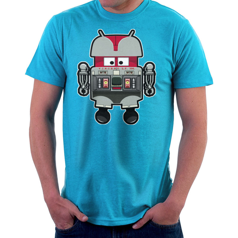 V.I.N.CENT L.F 396 Droid The Black Hole Android Men's T-Shirt by Bleee - Cloud City 7