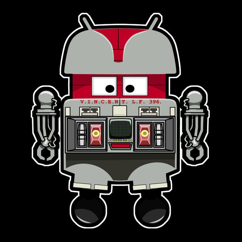 V.I.N.CENT L.F 396 Droid The Black Hole Android Kid's T-Shirt Kid's Boy's T-Shirt Cloud City 7 - 3