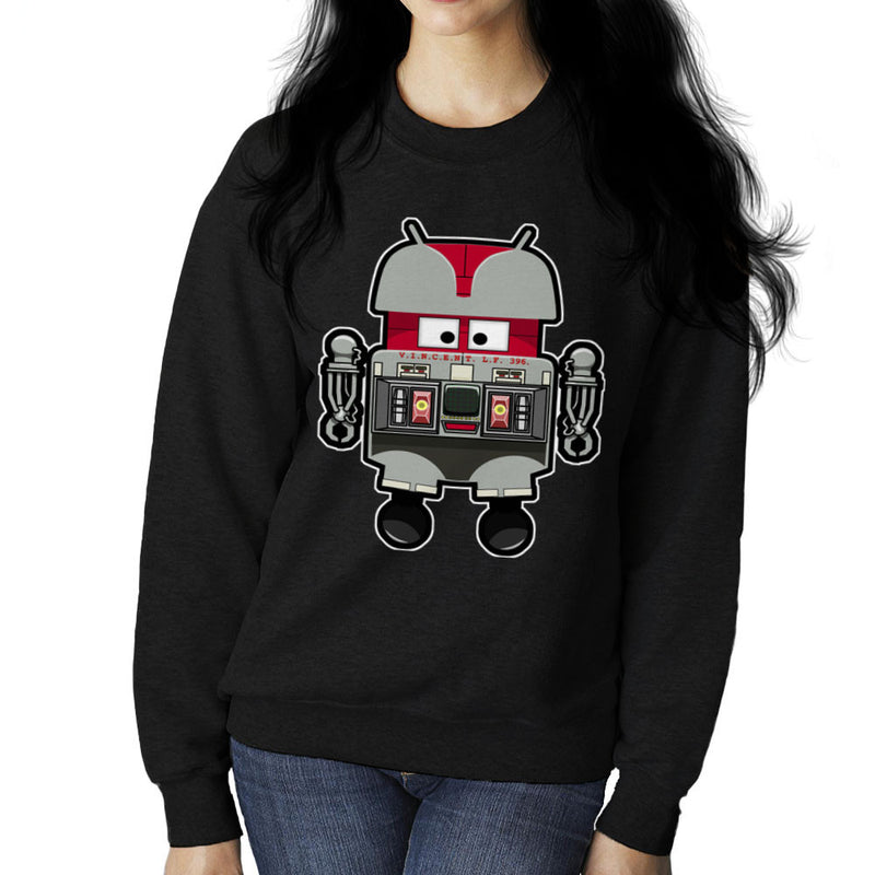 V.I.N.CENT L.F 396 Droid The Black Hole Android Women's Sweatshirt Women's Sweatshirt Cloud City 7 - 2