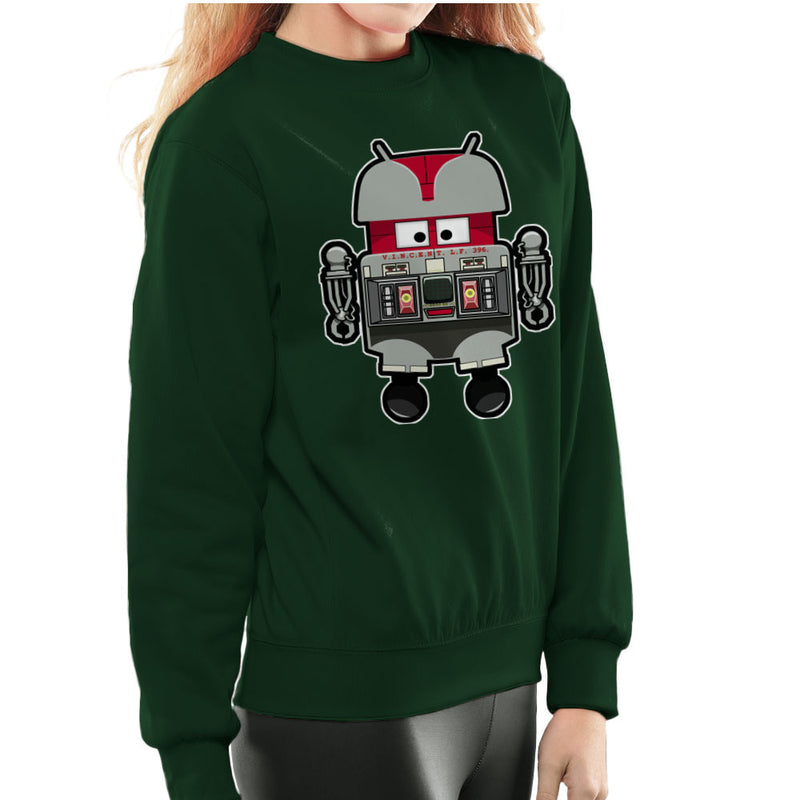 V.I.N.CENT L.F 396 Droid The Black Hole Android Women's Sweatshirt Women's Sweatshirt Cloud City 7 - 13