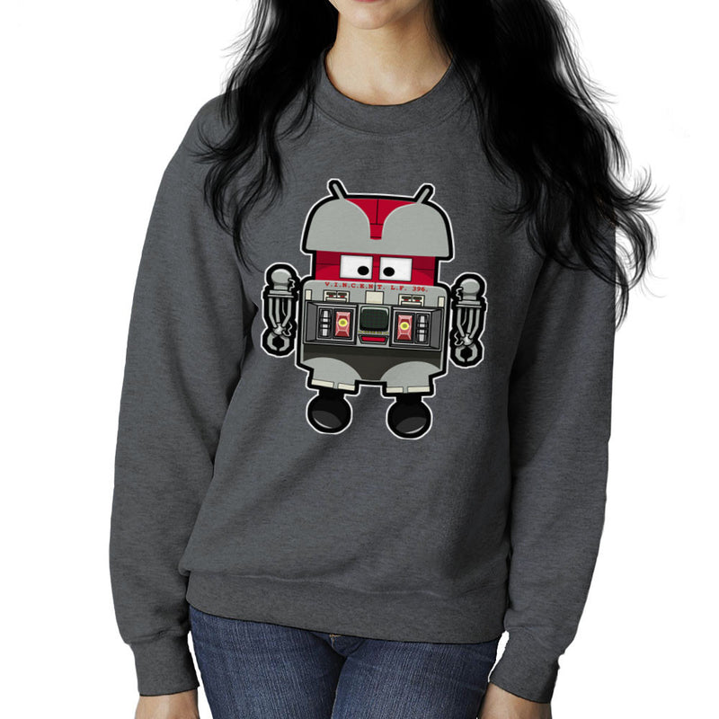 V.I.N.CENT L.F 396 Droid The Black Hole Android Women's Sweatshirt Women's Sweatshirt Cloud City 7 - 4