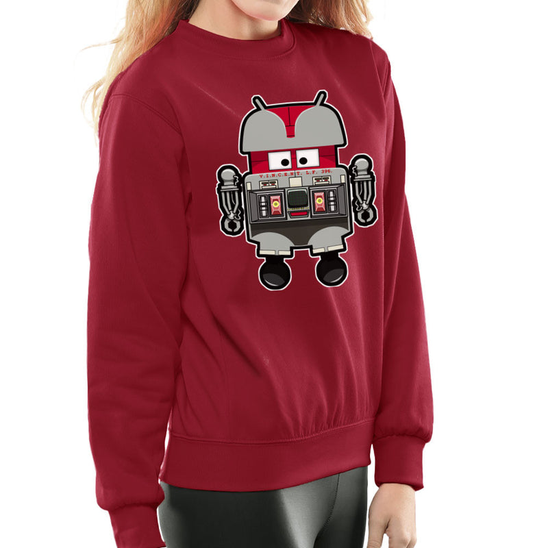 V.I.N.CENT L.F 396 Droid The Black Hole Android Women's Sweatshirt Women's Sweatshirt Cloud City 7 - 15