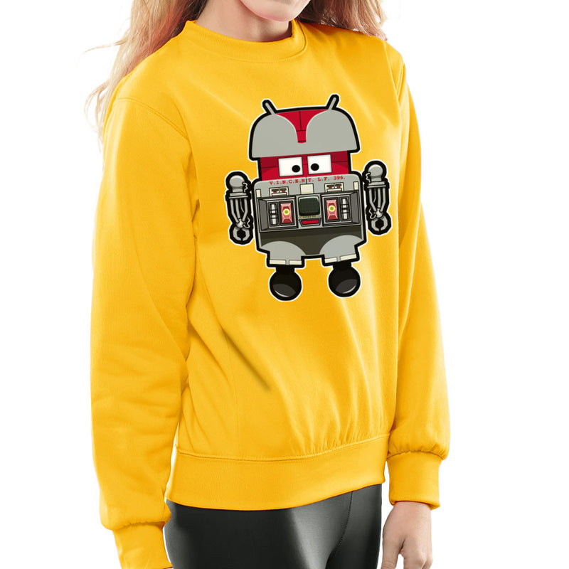 V.I.N.CENT L.F 396 Droid The Black Hole Android Women's Sweatshirt Women's Sweatshirt Cloud City 7 - 18
