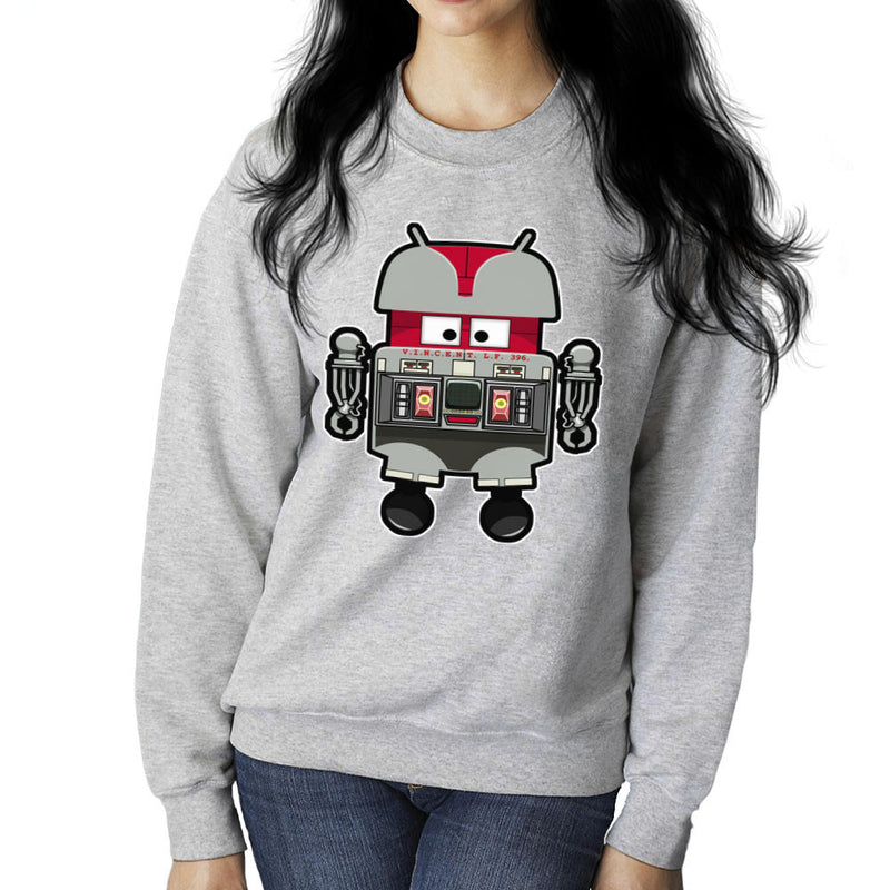 V.I.N.CENT L.F 396 Droid The Black Hole Android Women's Sweatshirt Women's Sweatshirt Cloud City 7 - 5