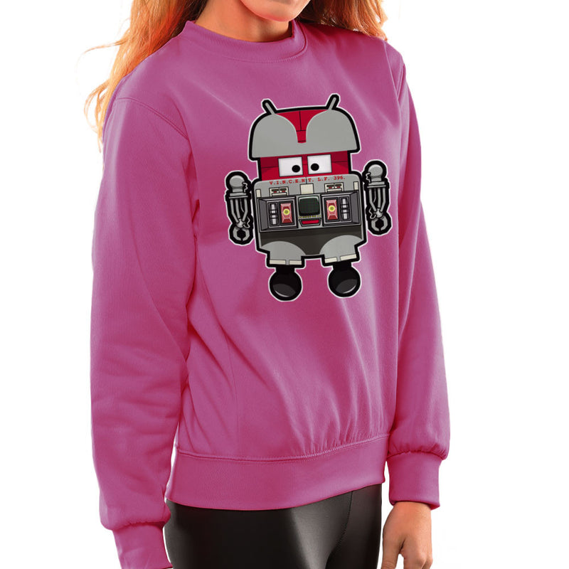 V.I.N.CENT L.F 396 Droid The Black Hole Android Women's Sweatshirt Women's Sweatshirt Cloud City 7 - 20