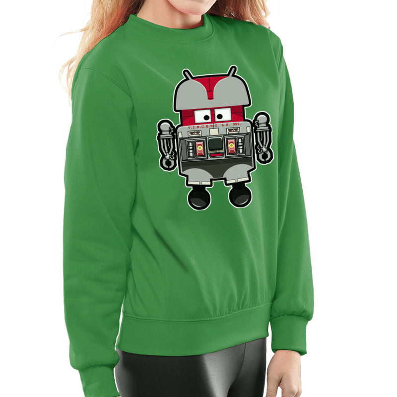 V.I.N.CENT L.F 396 Droid The Black Hole Android Women's Sweatshirt Women's Sweatshirt Cloud City 7 - 14