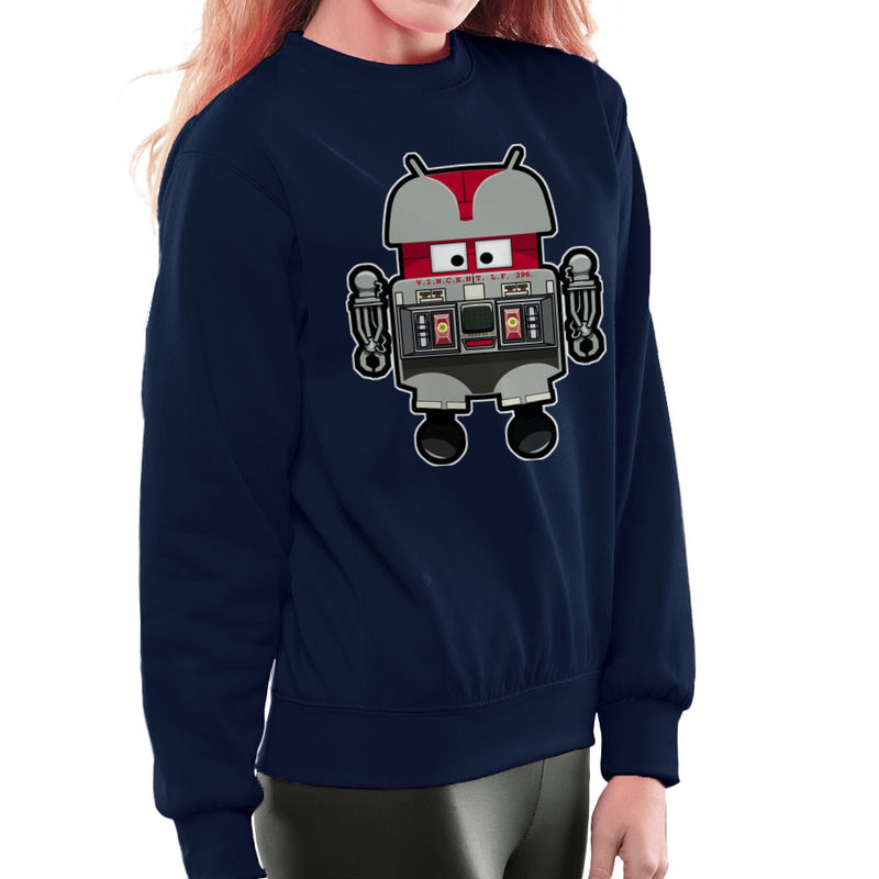 V.I.N.CENT L.F 396 Droid The Black Hole Android Women's Sweatshirt Women's Sweatshirt Cloud City 7 - 7