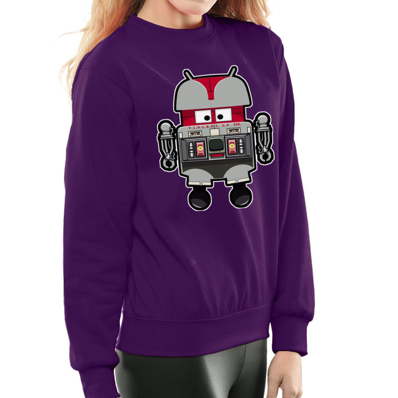 V.I.N.CENT L.F 396 Droid The Black Hole Android Women's Sweatshirt Women's Sweatshirt Cloud City 7 - 19