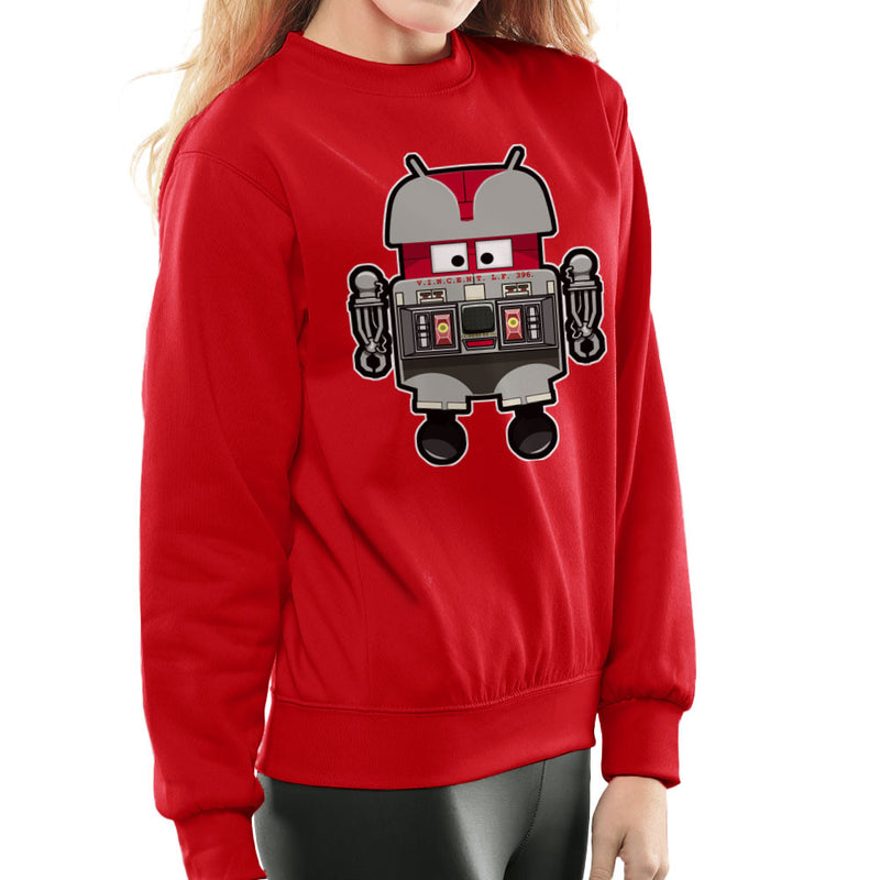 V.I.N.CENT L.F 396 Droid The Black Hole Android Women's Sweatshirt Women's Sweatshirt Cloud City 7 - 16