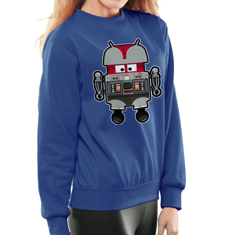V.I.N.CENT L.F 396 Droid The Black Hole Android Women's Sweatshirt Women's Sweatshirt Cloud City 7 - 8