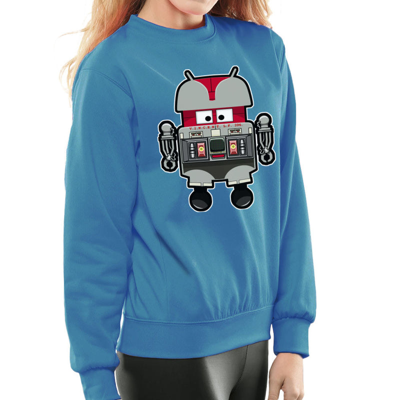 V.I.N.CENT L.F 396 Droid The Black Hole Android Women's Sweatshirt by Bleee - Cloud City 7