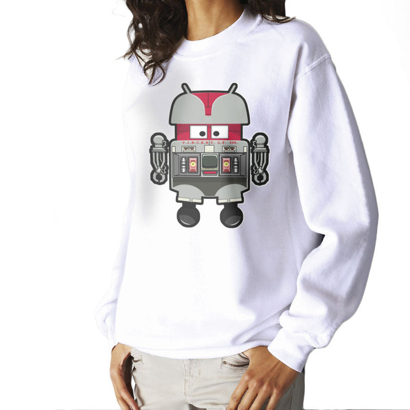 V.I.N.CENT L.F 396 Droid The Black Hole Android Women's Sweatshirt Women's Sweatshirt Cloud City 7 - 6