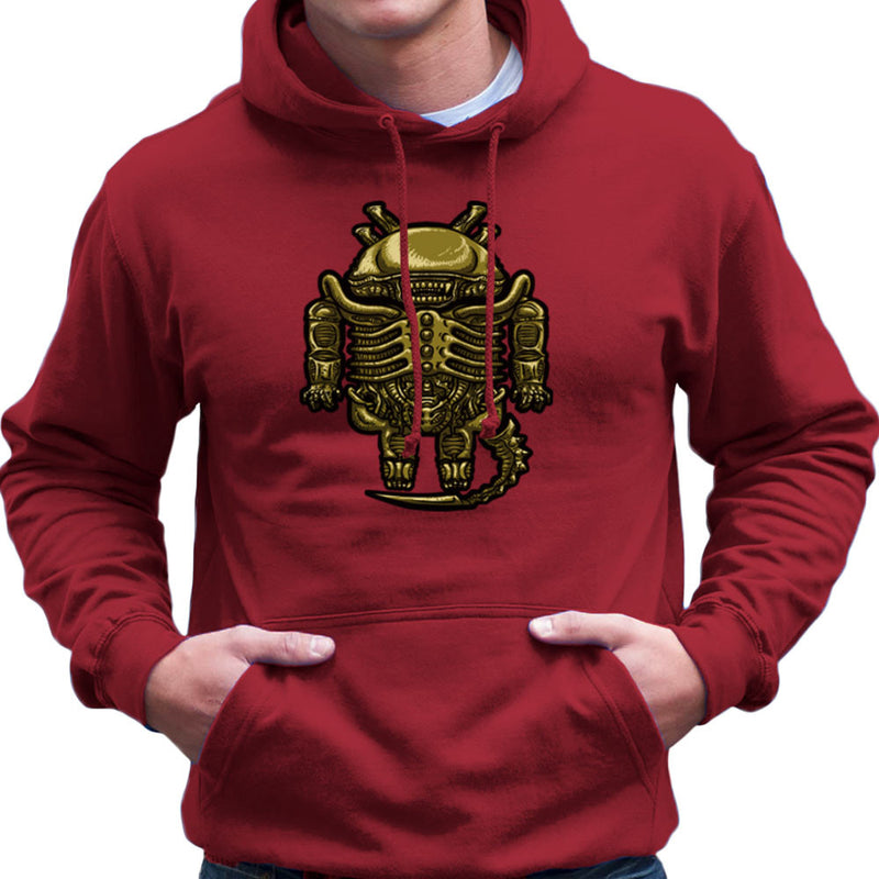Droilien Alien Android Men's Hooded Sweatshirt by Bleee - Cloud City 7