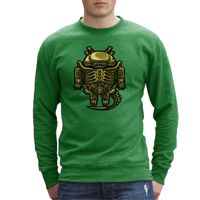 Droilien Alien Android Men's Sweatshirt by Bleee - Cloud City 7