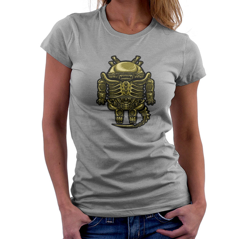 Droilien Alien Android Women's T-Shirt by Bleee - Cloud City 7