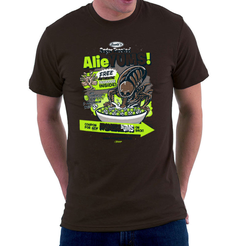 Alieyums Alien Cereal Men's T-Shirt by Gimetzco - Cloud City 7