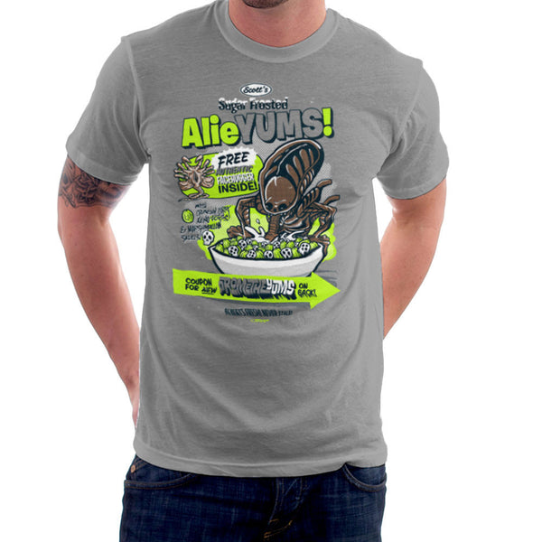 Alieyums Alien Cereal Men's T-Shirt Men's T-Shirt Cloud City 7 - 1