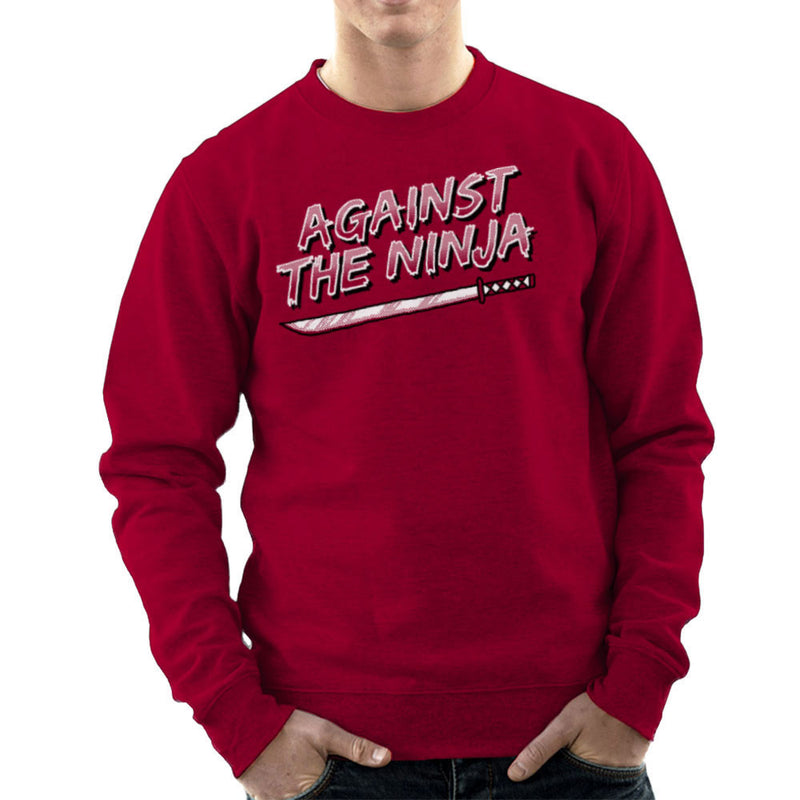 Against The Ninja Men's Sweatshirt by Gimetzco - Cloud City 7